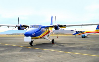 AINOnline Mentions IKHANA's Modification of Vietnam Twin Otter