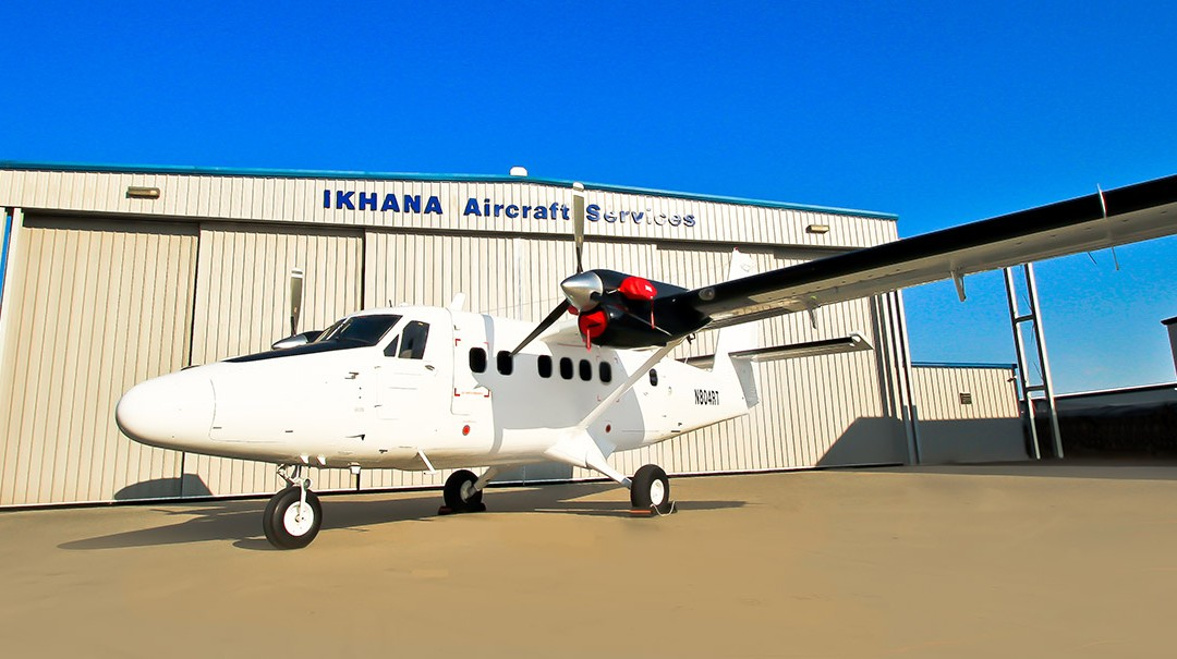 IKHANA Successfully Delivers RWMI DHC-6-200HG™ to G-Sky Aviation