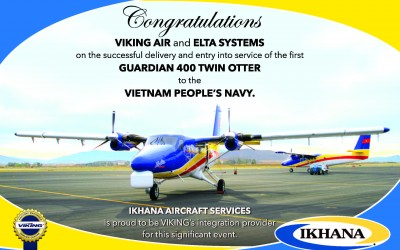 IKHANA Congratulates Viking Air and ELTA Systems in ShowNews