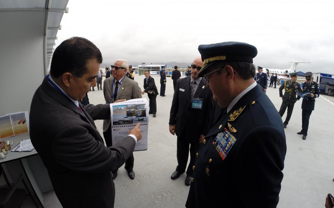 IKHANA Aircraft Attends Peru Aero Expo