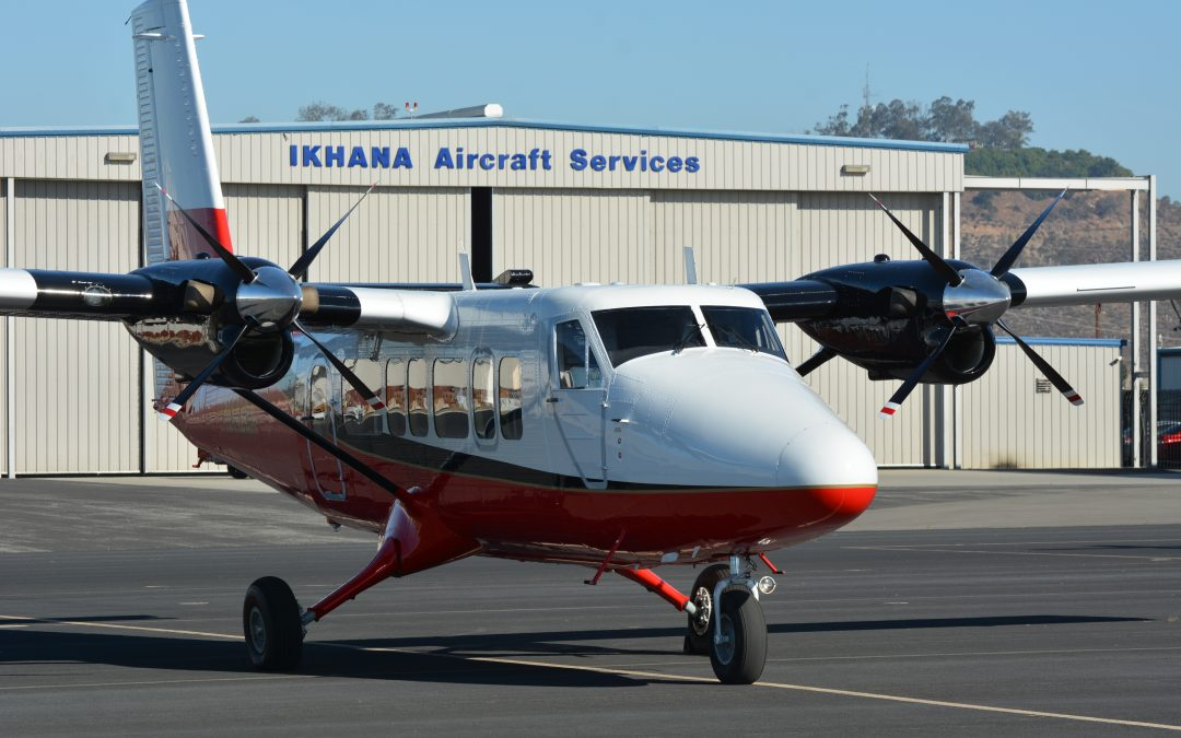 IKHANA Delivers 2nd Vistaliner to Grand Canyon Airlines