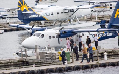 Their Royal Highnesses The Duke and Duchess of Cambridge again relied on a Twin Otter