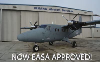 RWMI DHC-6-300HG™ Standard Commuter Category 14,000 lbs. MTOW STC Approved!